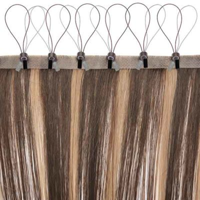 Collections fashion lace wigs hair micro bead skin weft straight hair extensions pmusecretfo Images